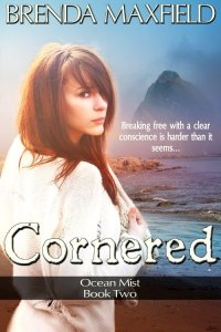 Cornered YA novel by Brenda Maxfield