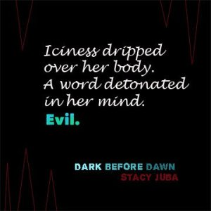 Dark Before Dawn YA supernatural suspense novel