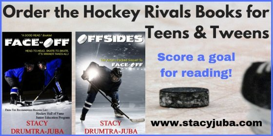 YA hockey book