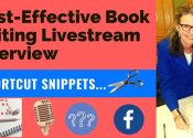Cost-Effective Book Editing Live Stream Interview