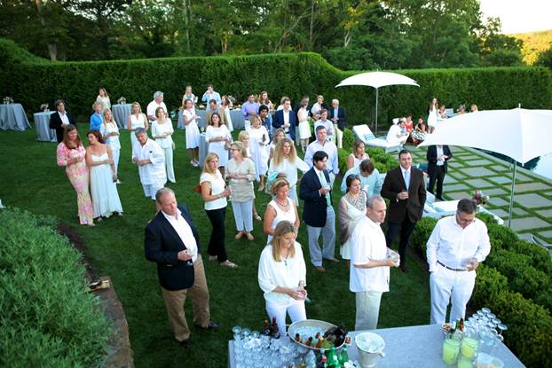 Solstice White Party