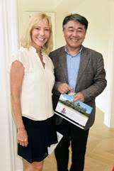 Susan Breitenbach, Thomas Yoon (Photo Credit Rob Rich/SocietyAllure.com)