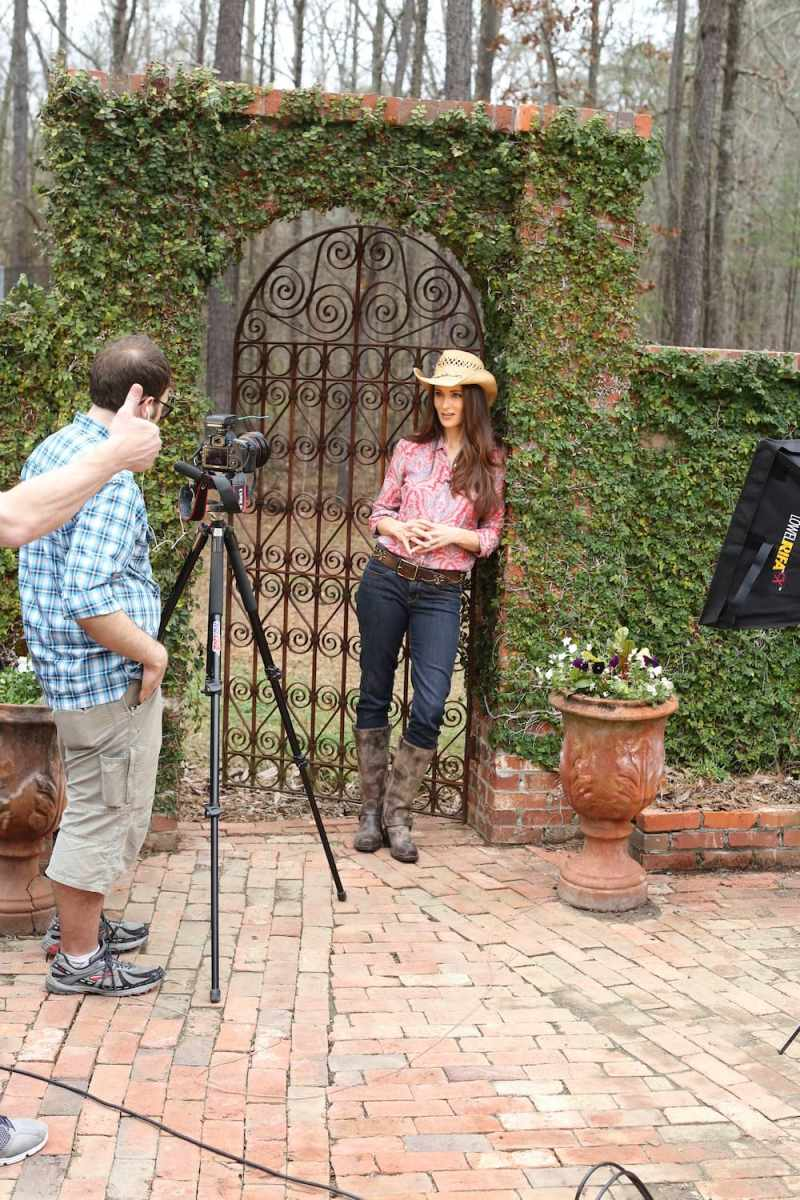 Filming Sustainable Living DVD with Stacy Harris