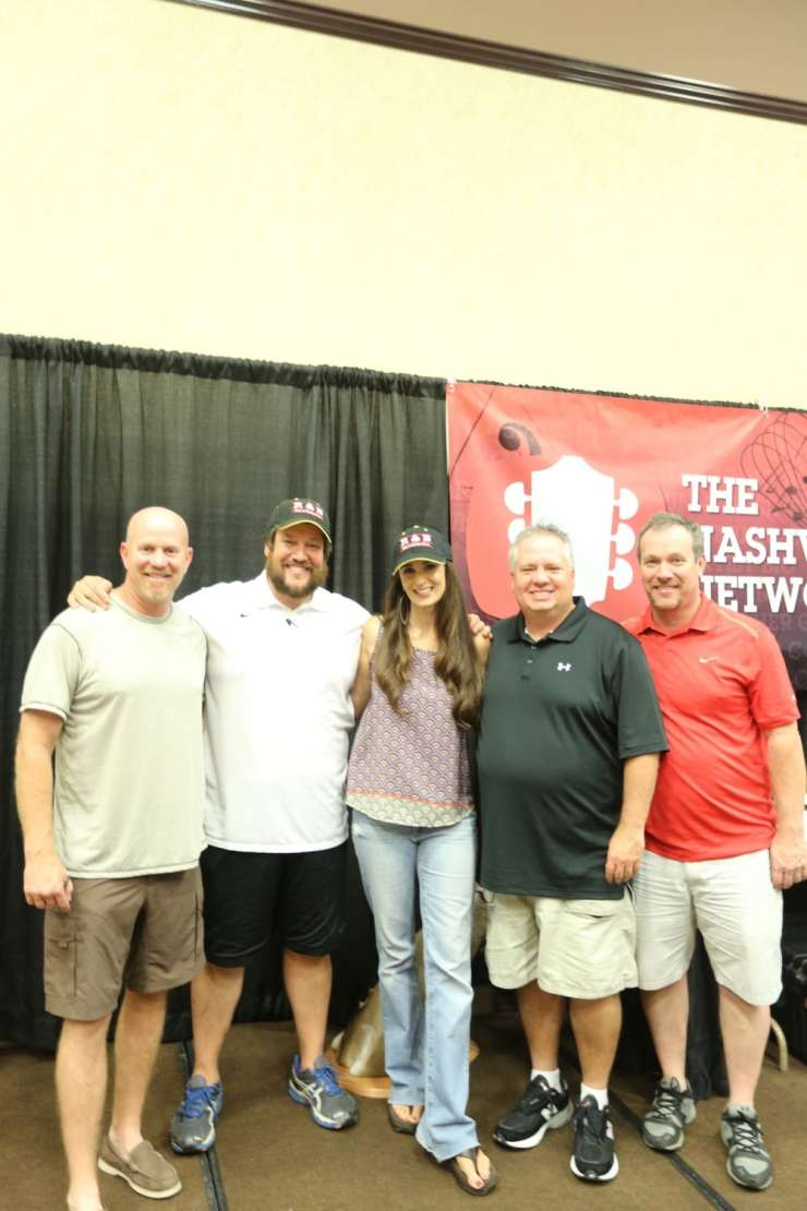 Speedy, Rick, Stacy, Bubba, and Greg; all except me from the Rick and Bubba Show
