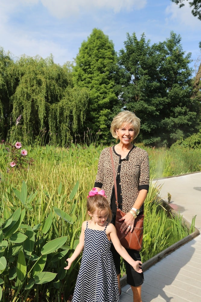 Grandmamma & Milly at Creation Museum