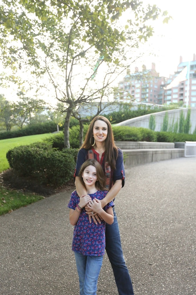 Stacy and Anna in Beautiful Cincinnati