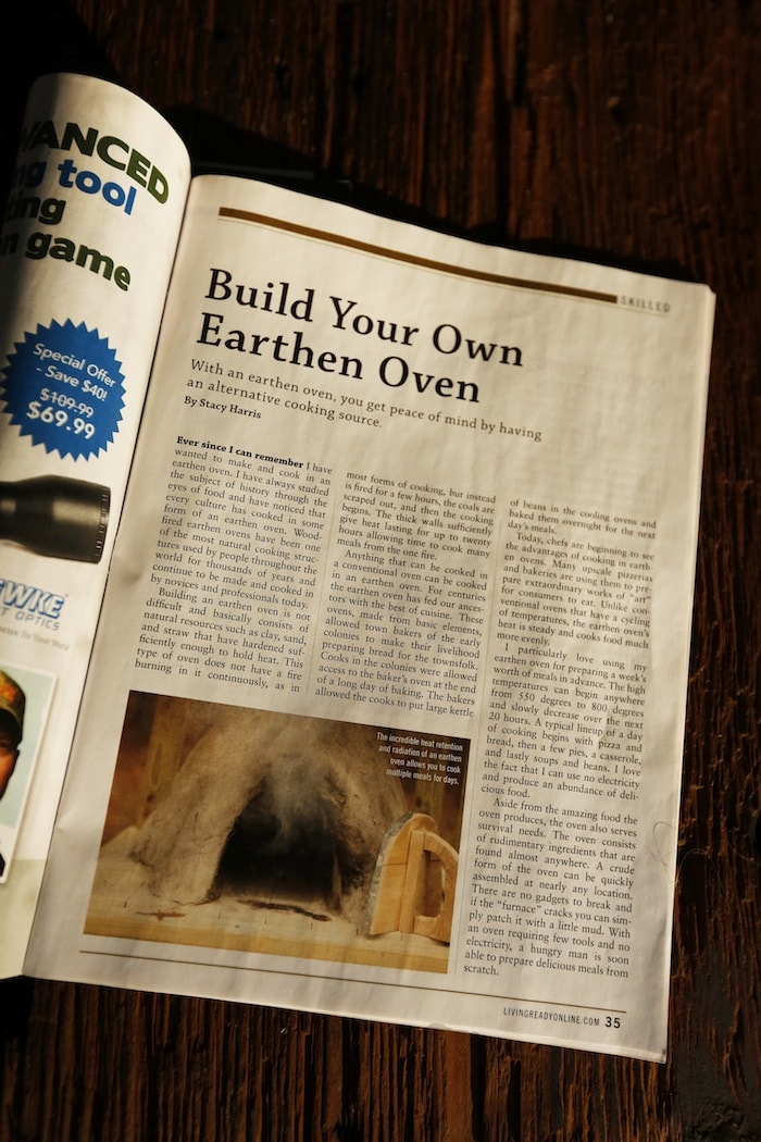Build Your Own Earthen Oven