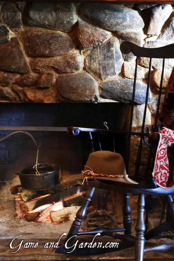 I just love a fireplace. That was one of my request for Scott and my honeymoon. They are so romantic! We went to Jackson Hole and the temperature was 18 degrees below freezing.
