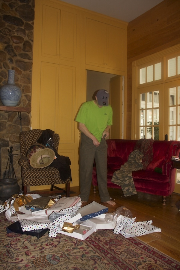 Hunter is adding the pants to the party!