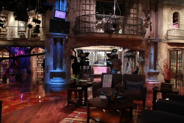 This is the enormous studio! Isn't it great!