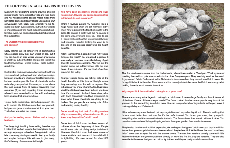 more more Dutch oven cooking