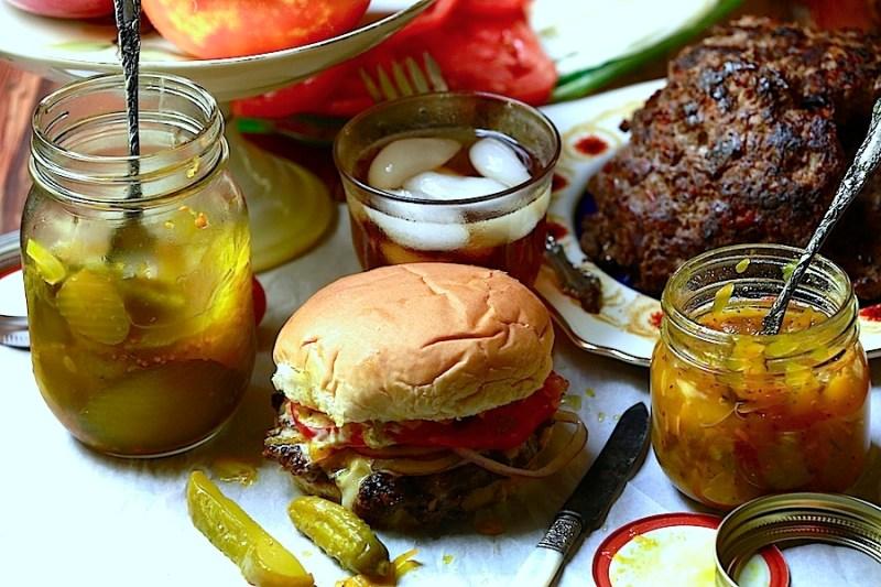 venison burger - a quick, easy wild game recipe