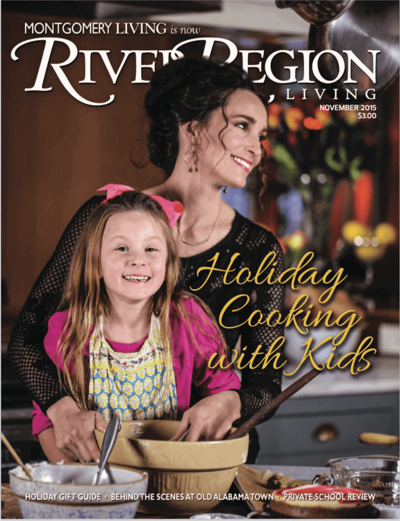 Stacy Lyn Harris - Cover River Regions Living Magazine 2015