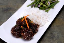 randy king's amazing five spiced elk meatballs