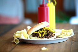 The Bobby Burger is my favorite burger using venison. The flavor is just amazing!