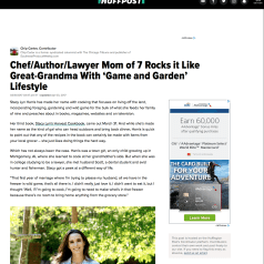 Stacy Lyn interviewed for Huffington Post