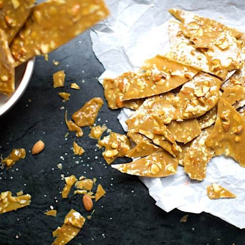 No-Fail Almond Brittle