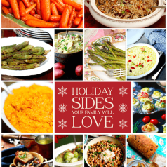 Holiday Sides list, recipes by Stacy Lyn Harris