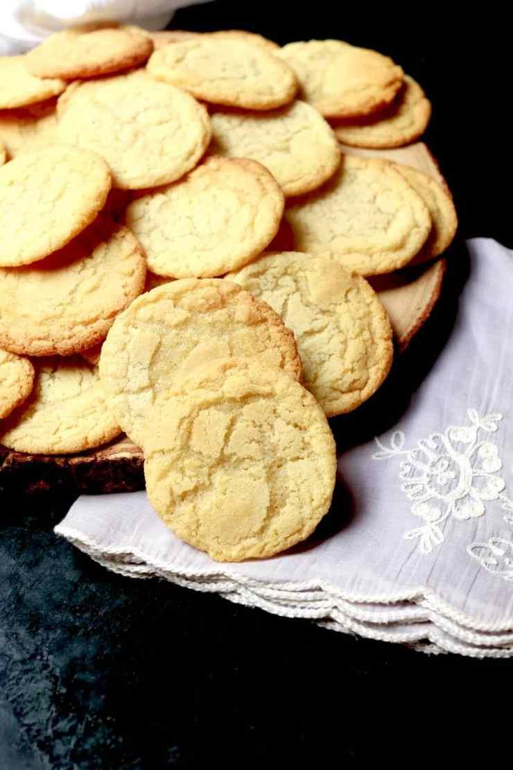 Homemade sugar cookies, recipe by Stacy Lyn Harris