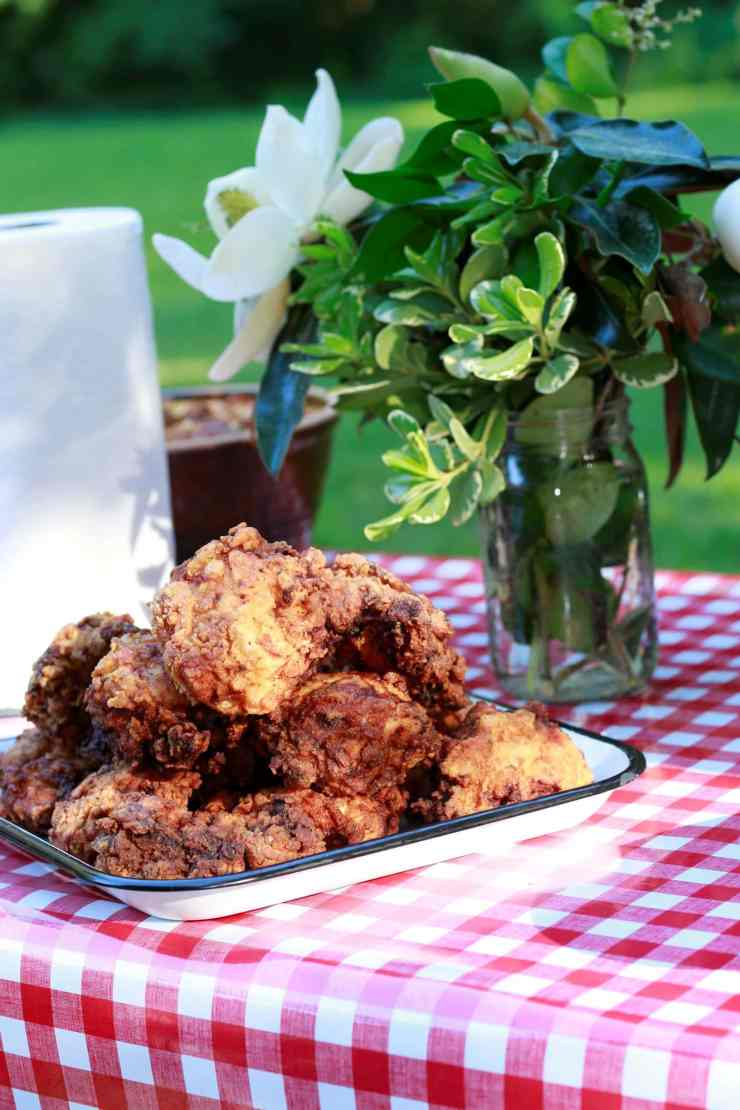 Stacy Lyn's version of her Granny Gray's southern fried chicken recipe