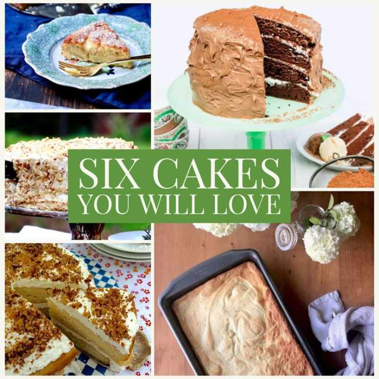 cake recipes roundup for every occasion