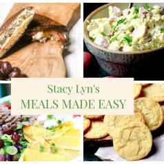 Stacy Lyn's Meal Made Easy with mouthwatering tuna salad sandwich