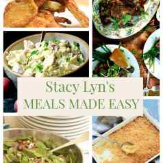 Stacy Lyn's Meal Made Easy featuring fried pork chops