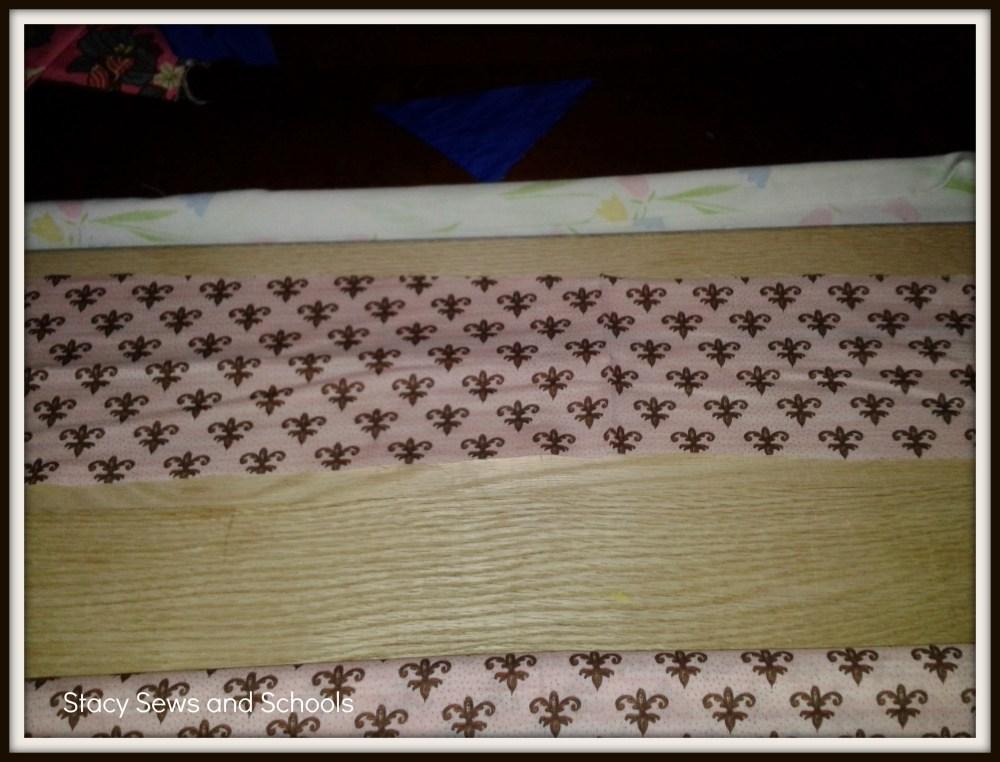 Fleur de Lis Maxi Skirt Tutorial (2/6)