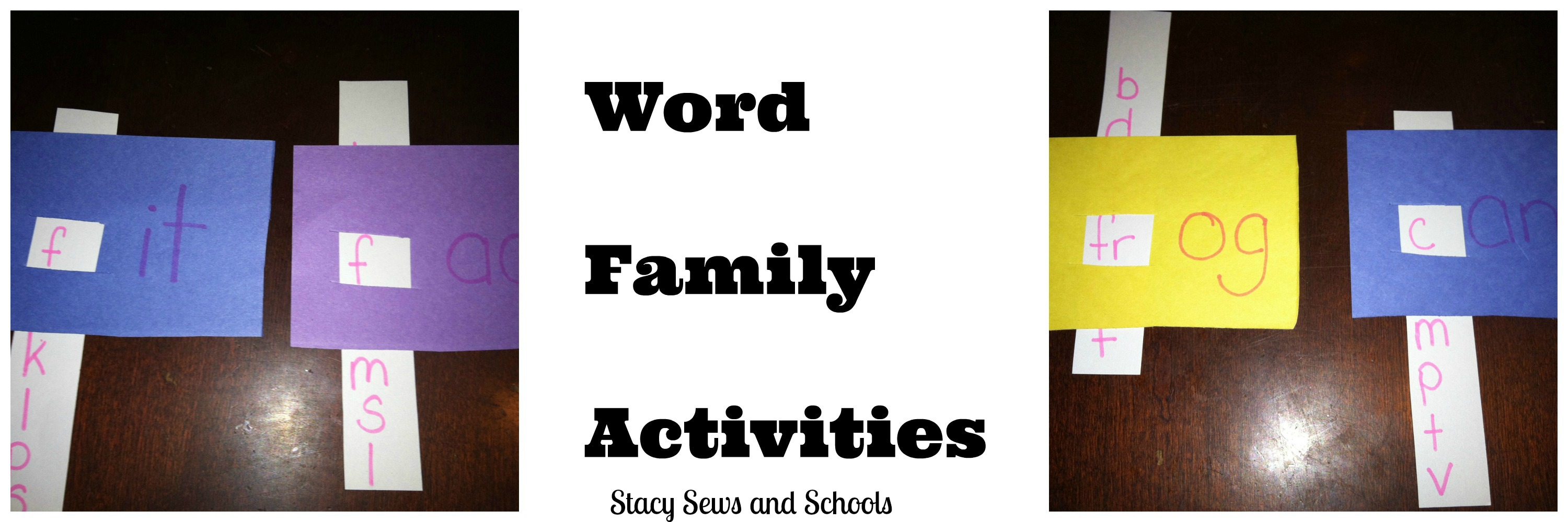 Easy Word Family Sight Word Activities