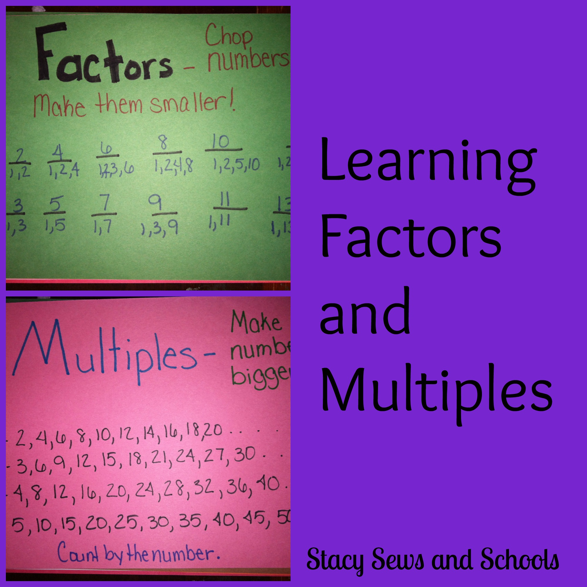 Learning Factors And Multiples And Comparing Fractions