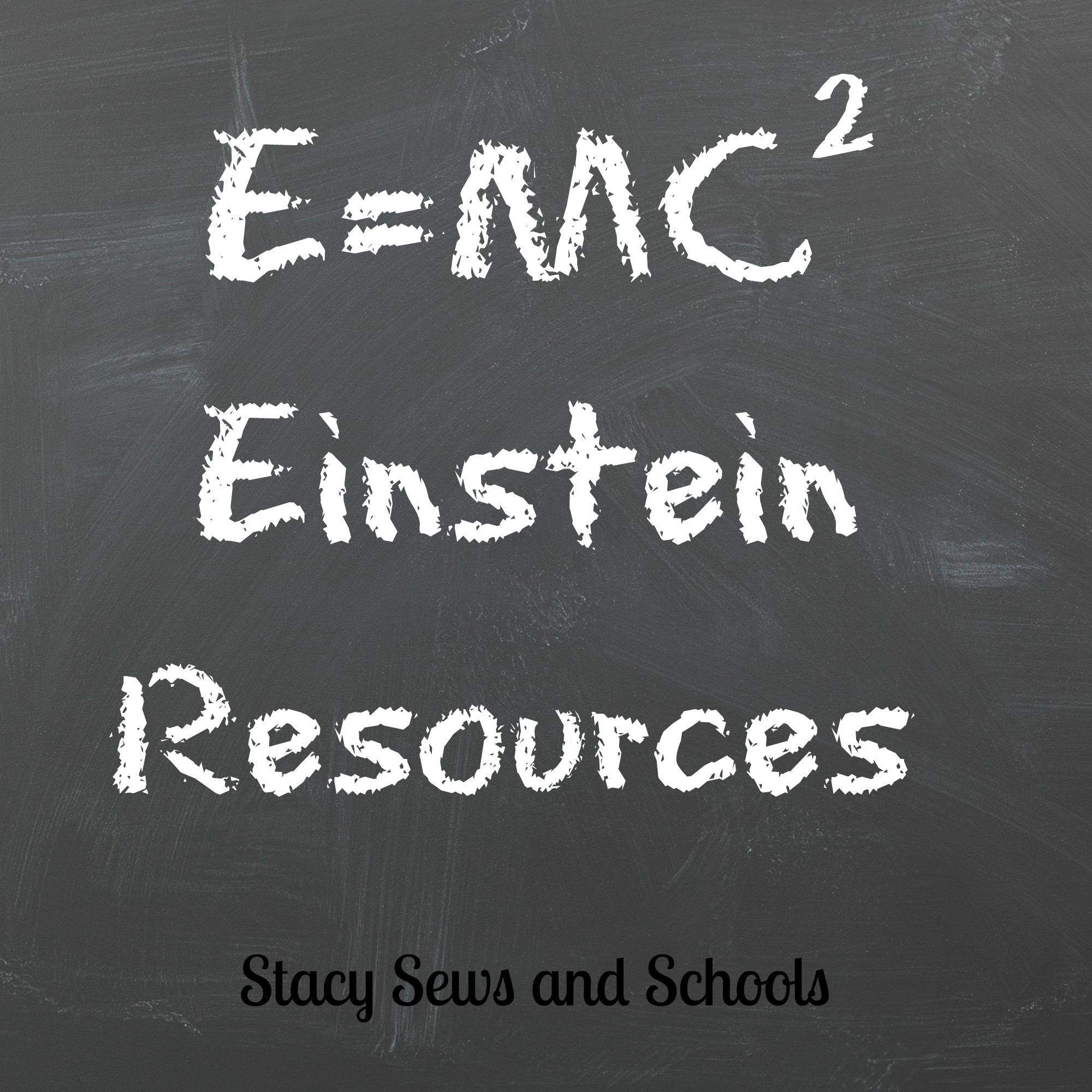 Stacy Sews And Schools Einstein Resources