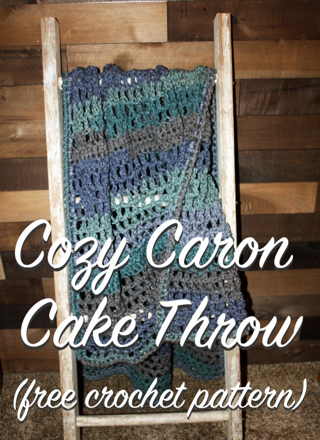 Cozy Crochet Blanket (Sofa Throw) with Caron Tea Cakes – Free ...