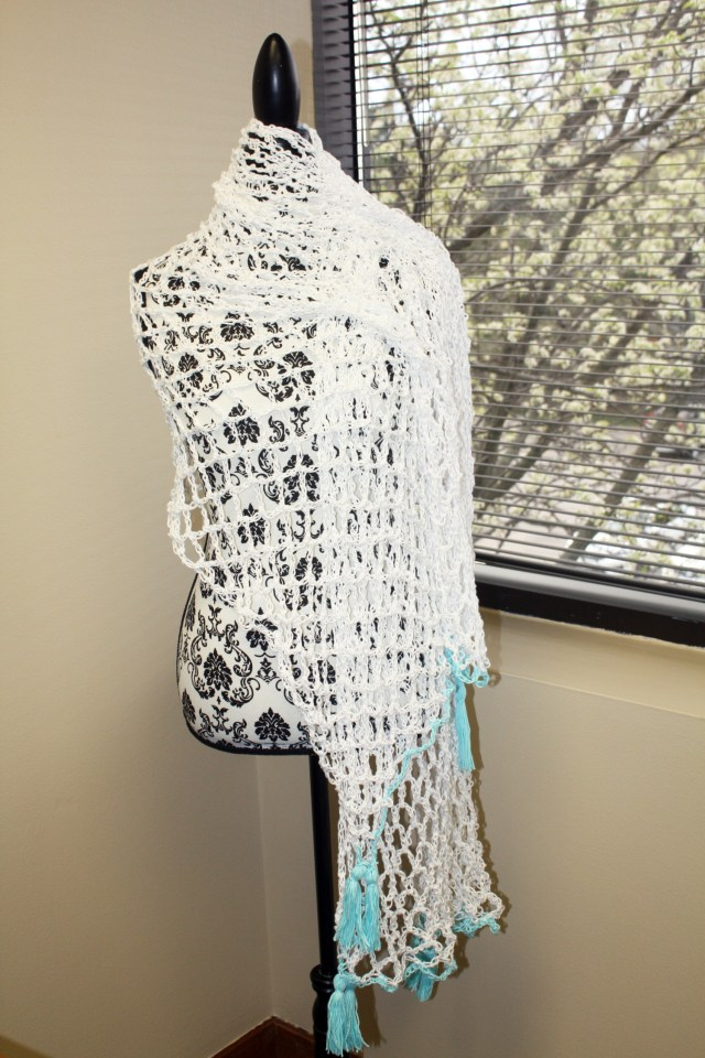 Adorable Crochet Beach Cover-Up (Pattern Review) - Stacy\'s Stitches