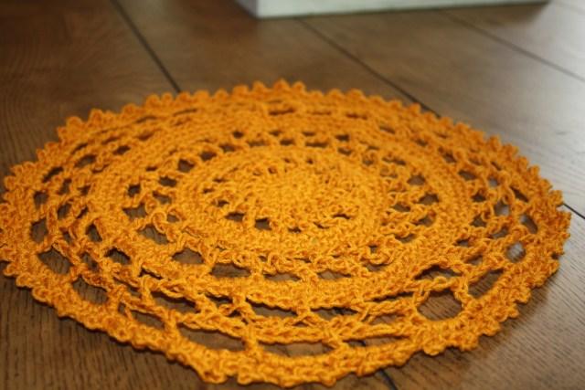 Sunny Day Crochet Placemat Pattern Free Crochet Pattern Stacys