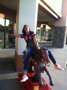 supermarket pony ride