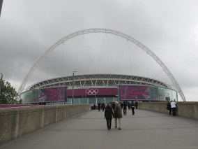 The new Wembley is a departure from the original. (Photo: Stadiafile)