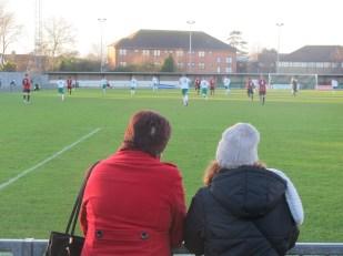 Lewes fans. (Photo: Stadiafile)