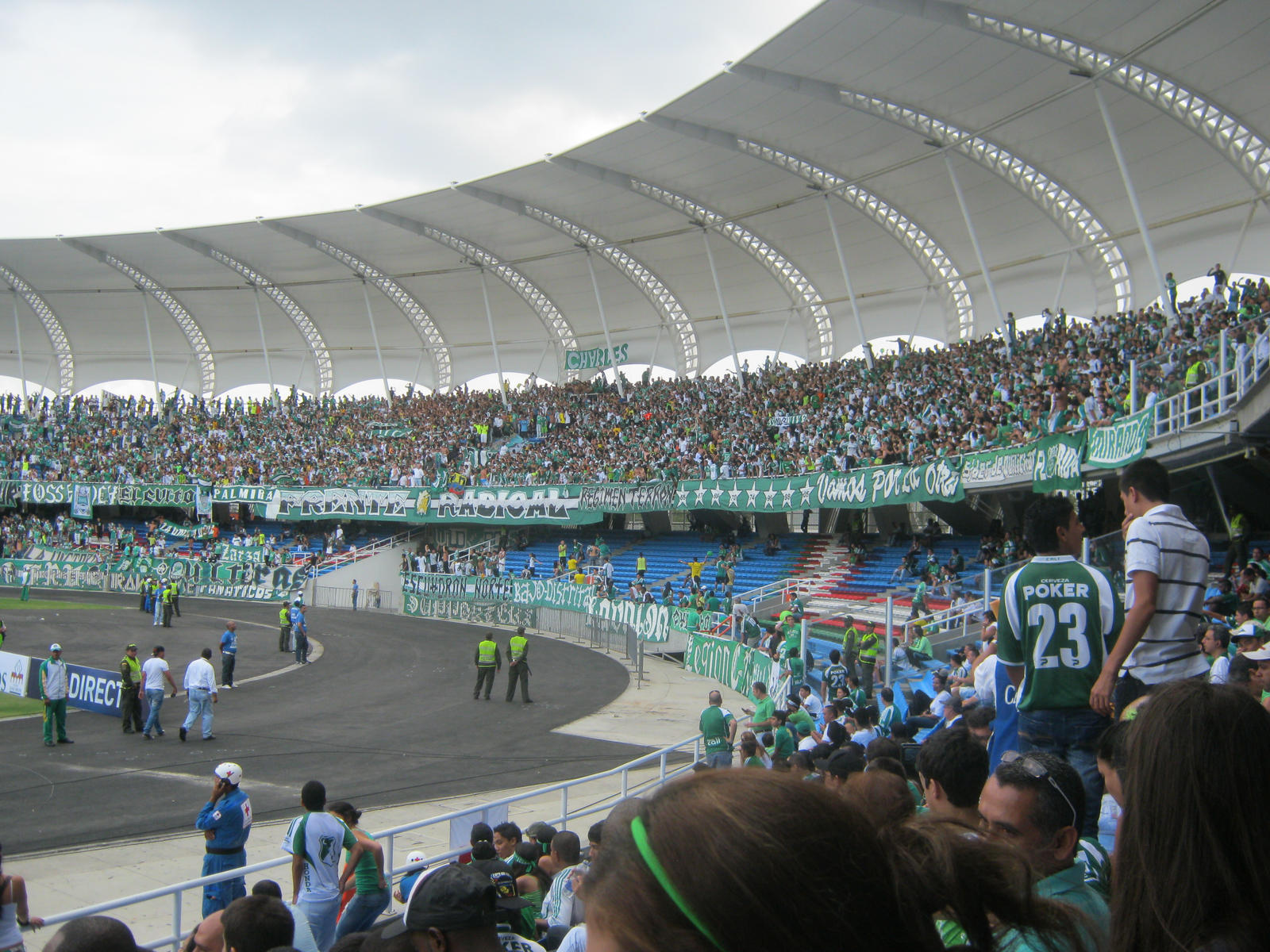 The new stadium, estadio deportivo cali, with a capacity for 55,000, is the biggest football stadium in colombia, was officially inaugurated on november 19,. Estadio Olimpico Pascual Guerrero (Sanfernandino / El