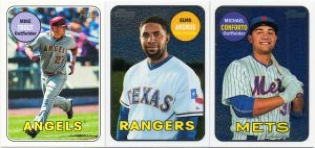 2018 Topps Heritage Base Variation and Chrome Parallels