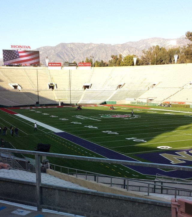 Rose Bowl north endzone 12/31/18