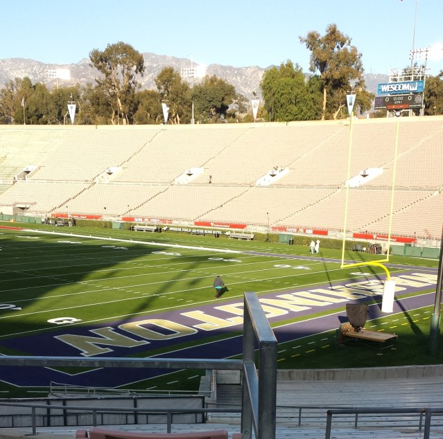 2019 Rose Bowl south endzone 12/31/18