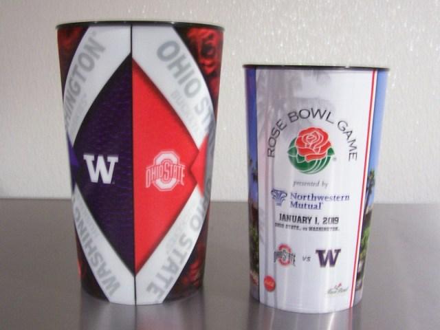 2019 Rose Bowl Souvenir Cups (back)