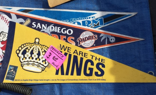 Assorted pennants
