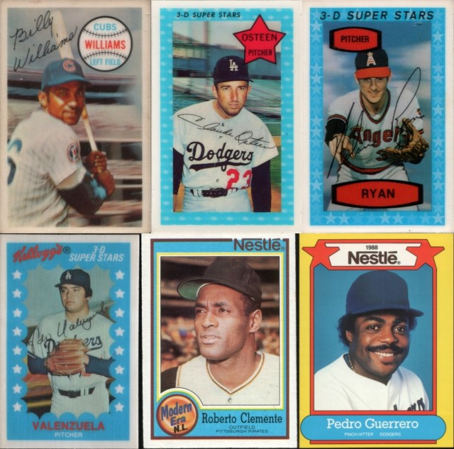 Assorted oddball cards