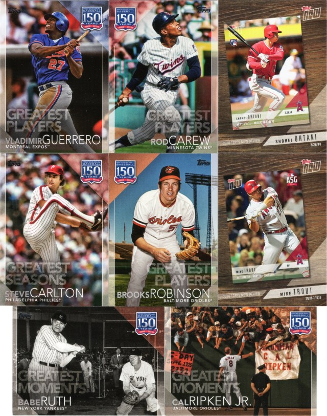 Another sampling of 2019 Topps inserts