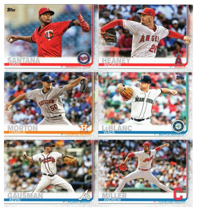 2019 Topps Series 1: Pitchers in action