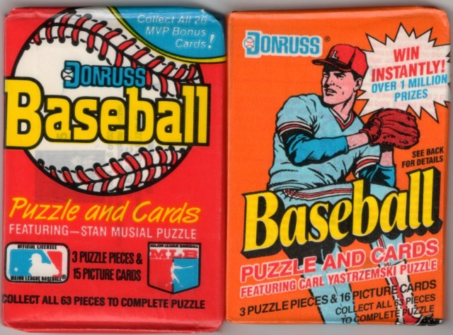Waxpacks! 1988 Donruss and 1990 Donruss