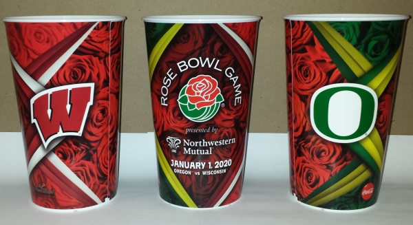 2020 Rose Bowl Souvenir Cups