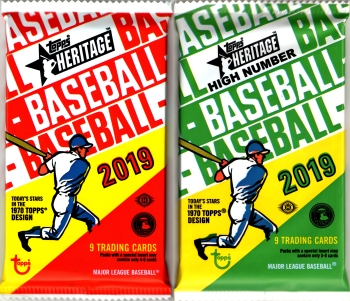 2019 Topps Heritage (and High Number)