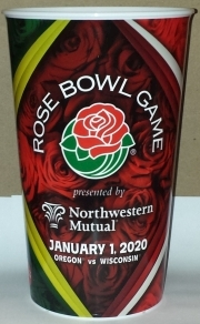 2020 Rose Bowl Game Souvenir Cup